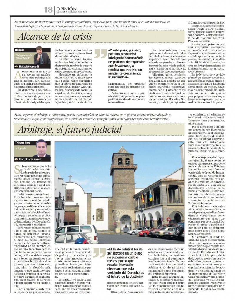 Publicado en Canarias 7