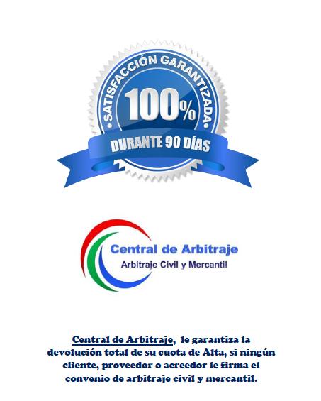 Garantía Central de Arbitraje